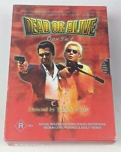 Dead Or Alive Trilogy Box Set 1 2 & 3 - Genuine Region 4 DVD Takashi Miike
