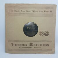 YELLOW DOG BLUES WC Handy Joseph c Smith VICTOR 1920's VICTROLA 78 rpm V+