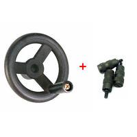 Bridgeport Milling Machine Parts (1×Feed Hand Wheel) + (3×Reverse Knob Assembly)
