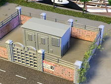 OO Scale 1/76 GAUGE ELECTRICITY SUB STATION