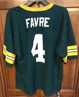 Logo Athletic Green Bay Packers Brett Favre #4 Jersey Green Men XL Vintage