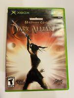Baldur's Gate: Dark Alliance (Microsoft Xbox, 2002) CIB