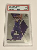 PSA 9 Mint - 2019-20 Panini Mosaic #8 - LeBron James - Los Angeles Lakers
