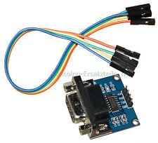 2 x seriell RS232 auf TTL Wandler Konverter mit Kabel und DB9 Buchse, MAX3232