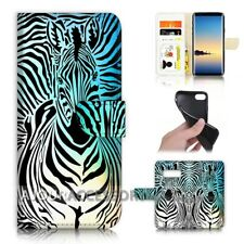 ( For Samsung S10e ) Wallet Flip Case Cover AJ40124 Zebra