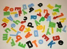 Large lot of plastic magnetic letters - Alphabet Preschool Magnets