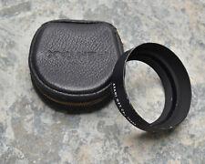 Genuine Asahi Pentax Metal 49mm Standard Lens Hood 1:1.8 55mm Pentax Case (1438)