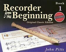 Recorder from the Beginning Book 1 Classic Edition New 014027184