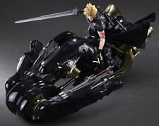 Final Fantasy Advent Children Cloud Strife and Fenrir Play Art Kai Action Figure