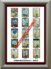 COVENTRY CITY - 1971-72 - REPRO STICKERS A3 POSTER PRINT