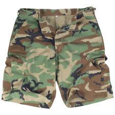 Mil-Tec US Woodland Prewash R/s Cotton Bermuda Shorts XL