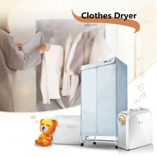 Home Electric Air Clothes Dryer Portable Heater Wardrobe Machine Drying Rack Hot
