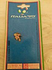 pin SPILLA mondiali di calcio ITALIA 90 mascotte CIAO gadget 1990 nuovo