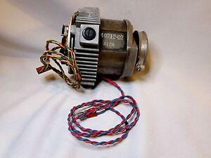 Variable Speed Motor pn 40712-02 wTachometer - Started turning @ 1.8 VDC to 15V