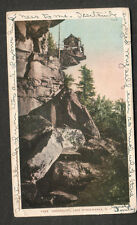 1906 post card Undercliff Lake Minnewaska Ny Agnes Smiley to Mechanicsville