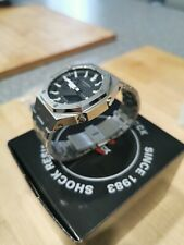 Brand New Casio G Shock GA-2100-1A1ER with AP style bezel and bracelet.