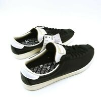 Adidas Mens Lacombe Athletic Shoes Black EE5750 Tennis Lace Up Low Top 8.5 New