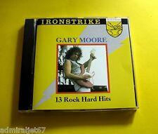 "CD "" GARY MOORE - 13 ROCK HARD HITS "" 13 SONGS (NUCLEAR ATTACK)"