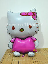 Giant XL Hello Kitty foil balloon airwalker supershape helium 116cm 46 inches