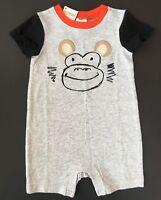 Gymboree Baby Boys Monkey One Piece 12 18 24 Months NWT NEW