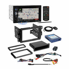 Planet Audio Car Radio Dash Kit SWI Bose Harness for 2000+ GM Chevrolet Pontiac