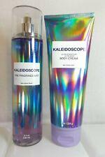 Bath Body Works Kaleidoscope Fragrance Perfume Spray Mist & Body Cream Lotion