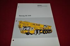 Demag AC 535 Mobile Craine Dealer's Brochure YABE4