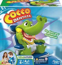 Gioco Cocco Dentista Hasbro Dottore Apri la Bocca al Coccodrillo Estrai il Dente