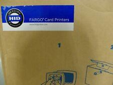 New listing Hid Fargo Dtc1250e Id Card Printer