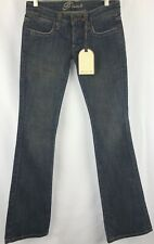 Frankie B. Women's Jeans Size 2 Downtown Slim Bootcut Embroidered Pockets
