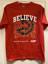 Atlanta Hawks 2021 Playoffs Shirt Size Large