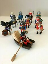 PLAYMOBIL BUNDLE PIRATES, KNIGHTS FIGURES X 11 PLUS EXTRAS