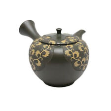 Japanese tea pot- SHUN-EN MANO- Arabesque- 220cc/ml- ceramic fine mesh- Tokoname
