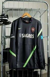 Coach Issue Portugal Training Jersey Nike Mens Size XL LS Match Worn Player