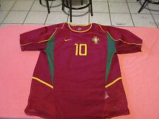 RUI COSTA #10 PORTUGAL NIKE JERSEY SIZE L SOCCER FUTBOL