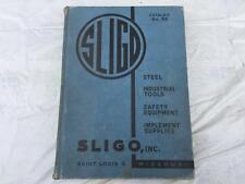 1947 SLIGO St. Louis Steel Industrial Tools Safety Equipment Catalog No. 88