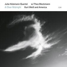 JULIA HÜLSMANN QUARTET - A CLEAR MIDNIGHT.KURT WEILL AND AMERICA  CD NEW!
