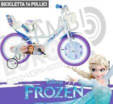 "BICI BICICLETTA 16"" 107-125 DINO BIKES FROZEN PRINCIPESSE ELSA BAMBINA 164R-FZ3"