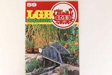 LGB Buch - Prospekt - Katalog LGB DEPESCHE Sommer 1988 Heft 59 Spur G
