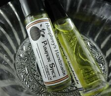 PUMPKIN SPICE Unisex Cologne Oil Mens Womens Jojoba Perfume Nutmeg Cinnamon Pie