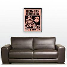 "23"" X 16"" Jimi Hendrix Ricky Tick Hounslow Poster UK 67"