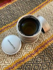 Voigtlander Colour-Heliar 75mm F/2.5 LTM L39 Leica Screw Mount Lens Only