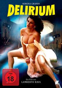 Delirium (Lamberto Bava, Serena Grandi) FSK18 DVD NEU + OVP!