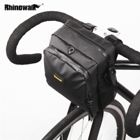 Handlebar Bag Front Frame Bag Bicycle Pannier Shoulder Bag Waterproof Rain Cover