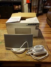 Bose White SoundDock Digital Music System For iPod & iPod Mini & Nano no remote