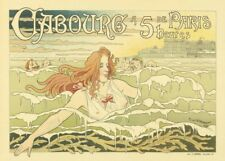 CABOURG FROM PARIS IN 5 HOURS French Travel Poster 250gsm A3 Reproduction