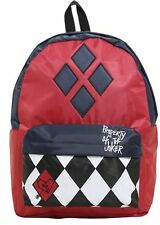 DC Comics Suicide Squad Harley Quinn Property Of The Joker Backpack Book Bag