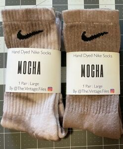 🔥HAND DYED NIKE SOCKS🔥FREE SHIPPING🔥CUSTOM!🔥Fits Size 8-12. LOTS OF COLORS!