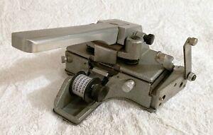 Dr. Catozzo 35 mm film splicer