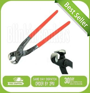 """9"""" LONG CARPENTERS TOWER PINCERS CLIPS NAIL PULLER CUTTING PLIERS HAND TOOL SNIP"""